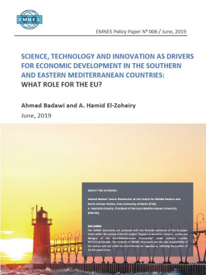 EMNES Policy Paper 006 – Science, Technology and innovation as drivers for economic development in the Southern and Eastern Mediterranean countries : What role for the EU?