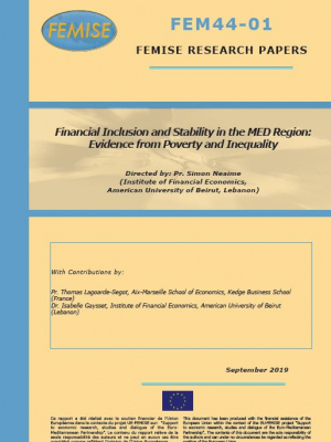 FEMISE Research Paper FEM44-01 - Financial Inclusion and Stability in the MED Region: Evidence from Poverty and Inequality (report FEM44-01)