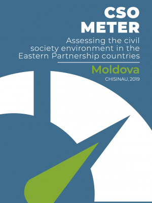 CSO METER: Assessing the civil society environment in the Eastern Partnership countries: Moldova 2019