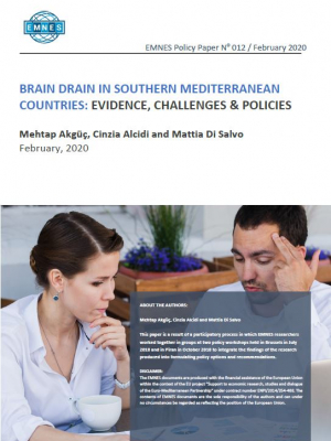 EMNES Policy Paper 012 – Brain drain in southern Mediterranean countries: evidence, challenges and policies