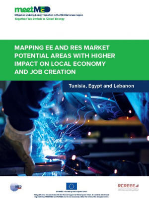 meetMED report : Mapping EE and RES market potential areas with higher impact on local economy and job creation