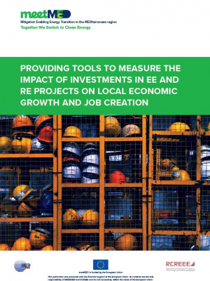 meetMED proposal : Providing tools to measure the impact of investments in EE and RE projects on local economic growth and job creation