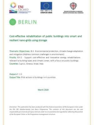BERLIN project benchmarking study – executive summary