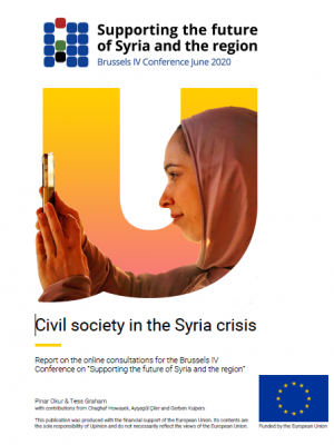 "Civil society in the Syria crisis - Report on the online consultations for the Brussels IV Conference on ""Supporting the future of Syria and the region"""