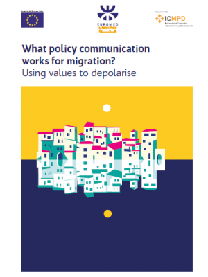 What policy communication works for migration? Using values to depolarise