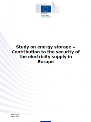 Study on energy storage