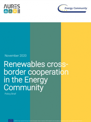 Policy brief: Renewables cross-border cooperation in the Energy Community