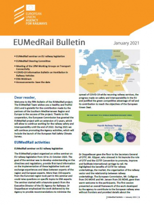 EUMedRail Bulletin – January 2021