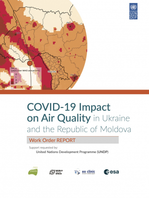 COVID-19 Impact on Air Quality in Ukraine and the Republic of Moldova