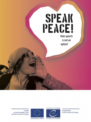Speak peace! Hate speech is not an option!