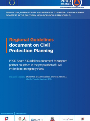 PPRD South 3 publishes guidelines to help partner countries prepare Civil Protection Emergency Plans