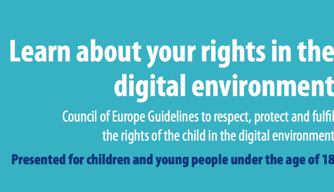 """Learn about your rights in the digital environment"""
