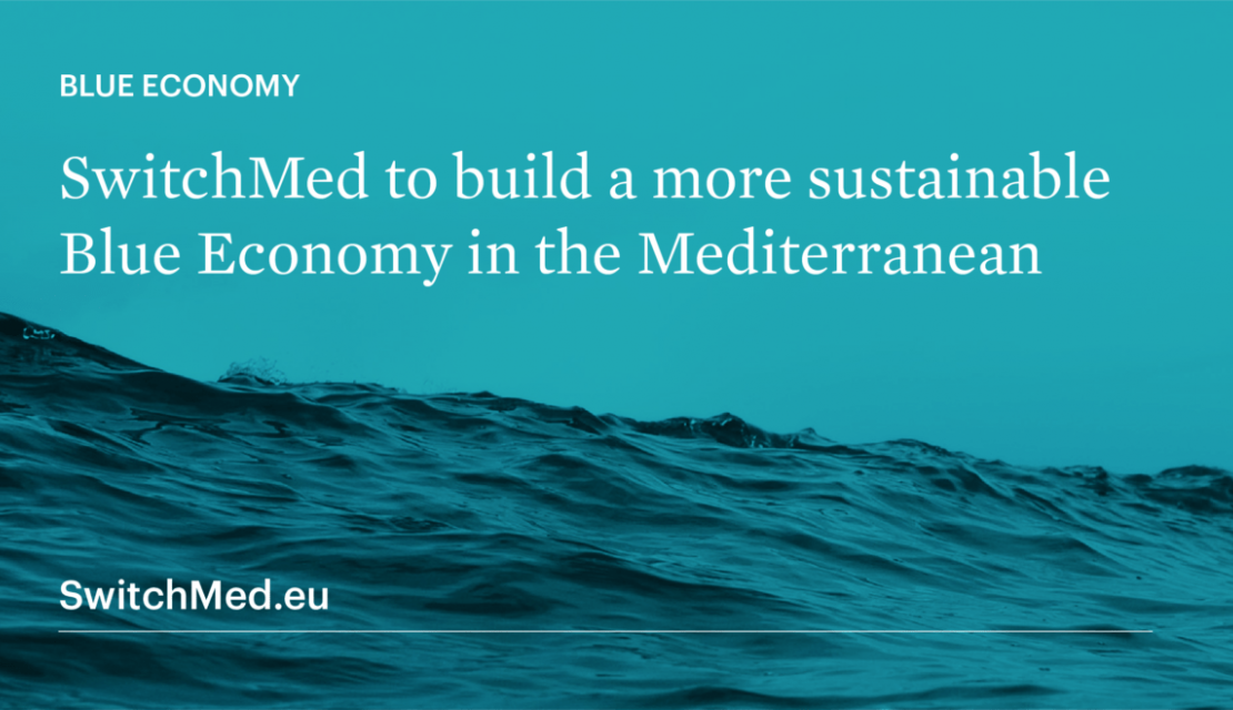 EU-funded SwitchMed to build a more sustainable Blue Economy in the Mediterranean