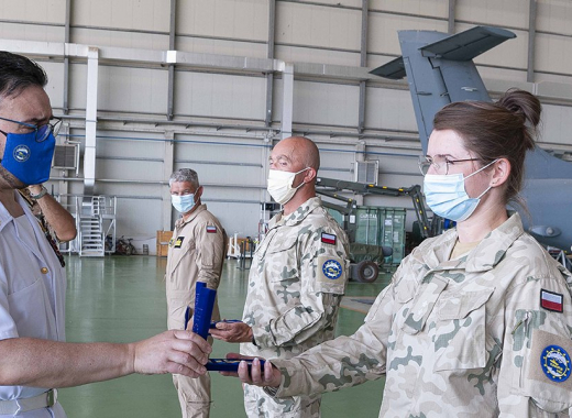 EUNAVFOR MED IRINI Military Operation: Commander Agostini visits Irini logistic base and site in Sigonella and Augusta