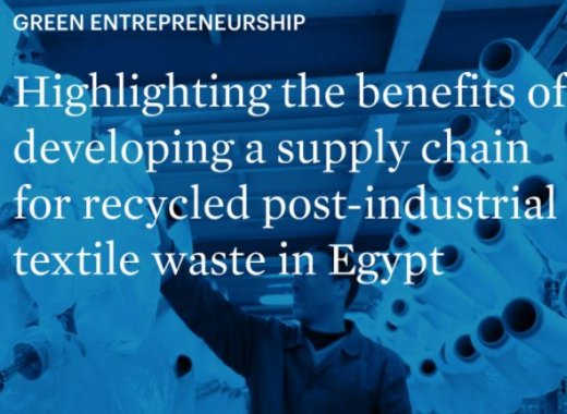 EU-funded SwitchMed: information session for Egyptian textile industries introduces benefits of valorising textile waste