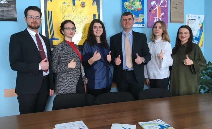 Ukrainian YEAs meet with the Ministry of Youth and Sports