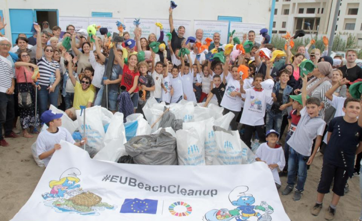 EU Delegation to Algeria : Awareness raising activities to fight against marine pollution