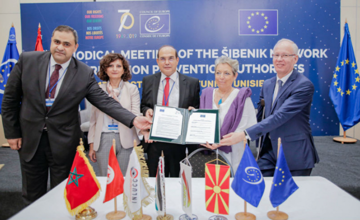 Jordan, Morocco and Tunisia accede to the Šibenik Network of Corruption Prevention Agencies supported by the Council of Europe