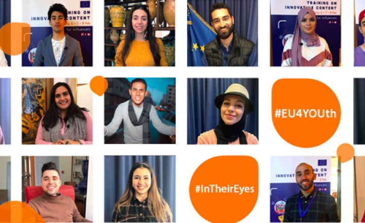 #EU4YOUth #InTheirEyes campaign : Postponement of the closing ceremony
