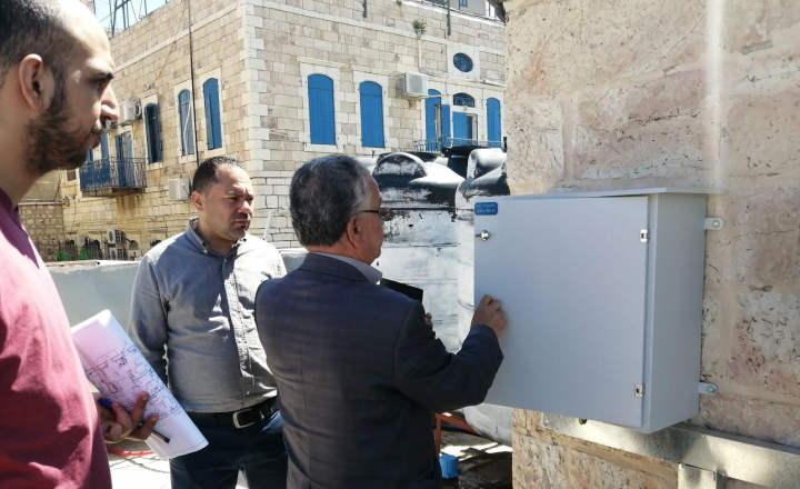 EU-funded BEEP project team visits Palestinian pilot building to advance its energy and environmental analysis