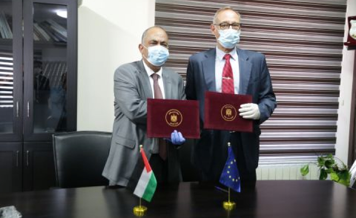 Palestine : EU Police Mission funds the printing of new unforgeable templates for criminal record certificates