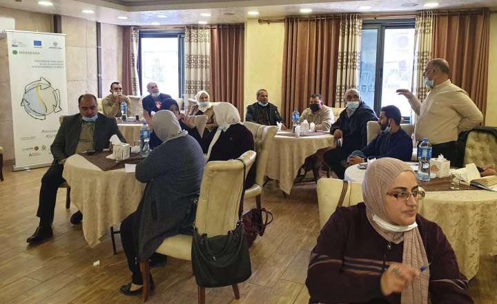 EU-funded MENAWARA holds meeting among water stakeholders in Palestine