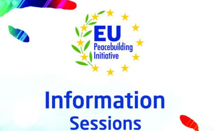 EU Peacebuilding Initiative call for proposals: information sessions to be held