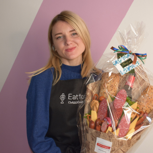 Edible bouquets in Ukraine: how EU4Youth helped Anna Movchan establish an innovative business