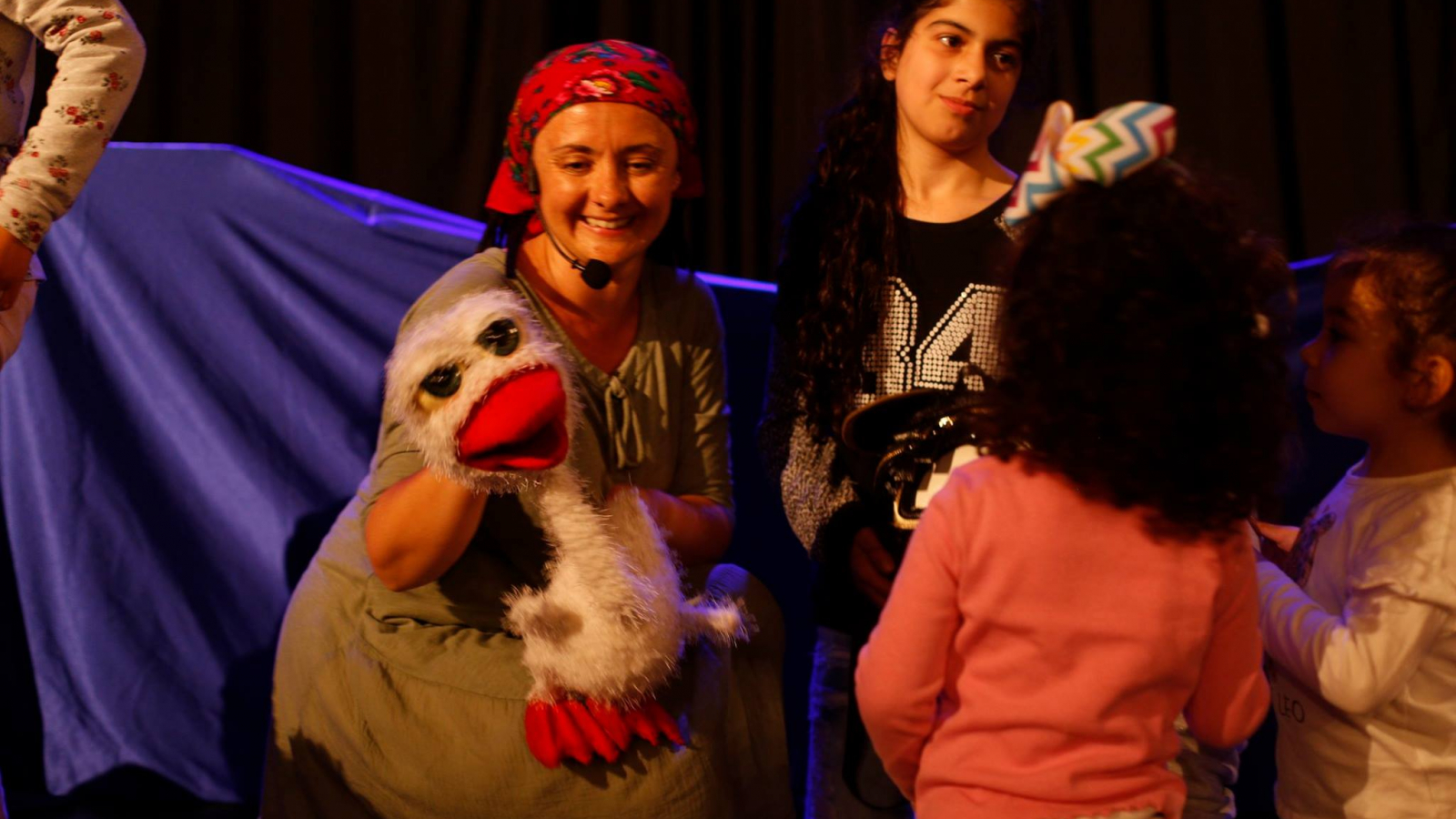 Palestine International Theater Festival for Children & Youth organised in partnership with the European Union
