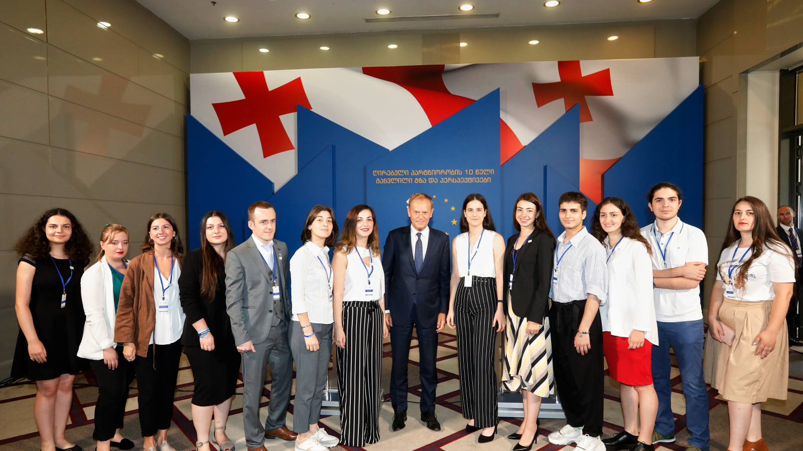 YEAs are meeting Mr. Donald Tusk