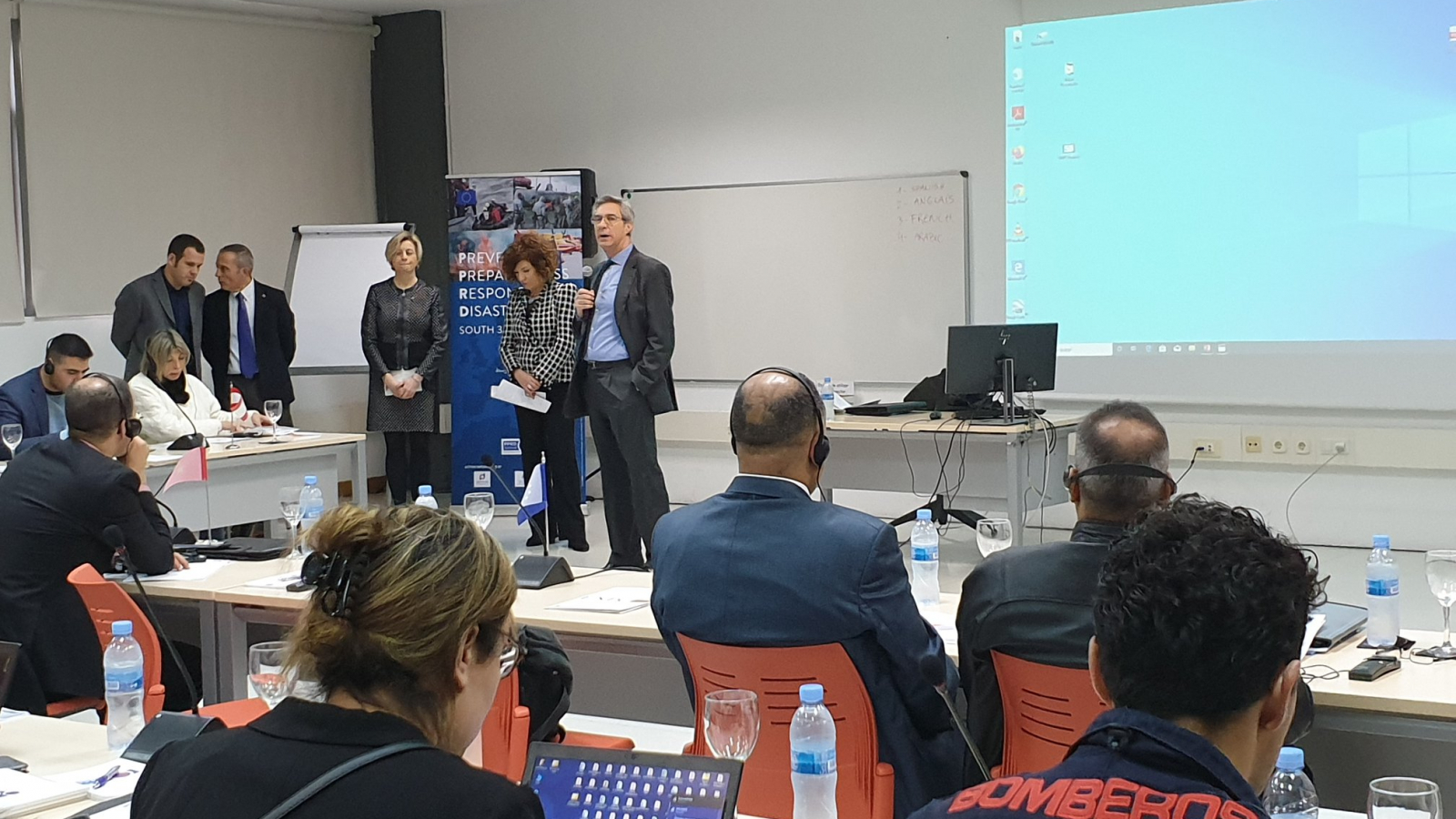 EU organises workshop on volunteering, population information and people response facing crisis