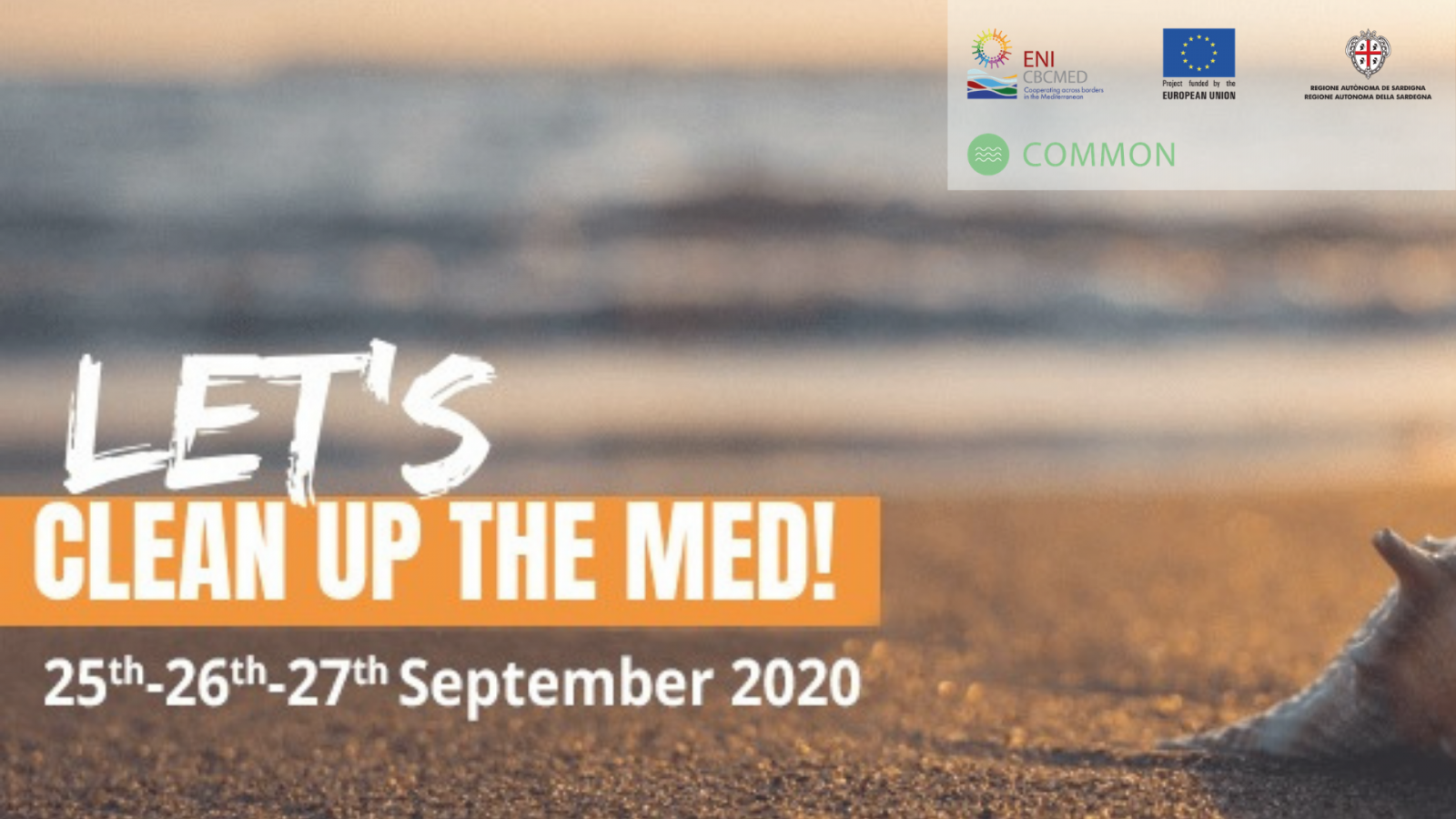 Clean Up the Med is back, promoted by the EU-funded COMMON project