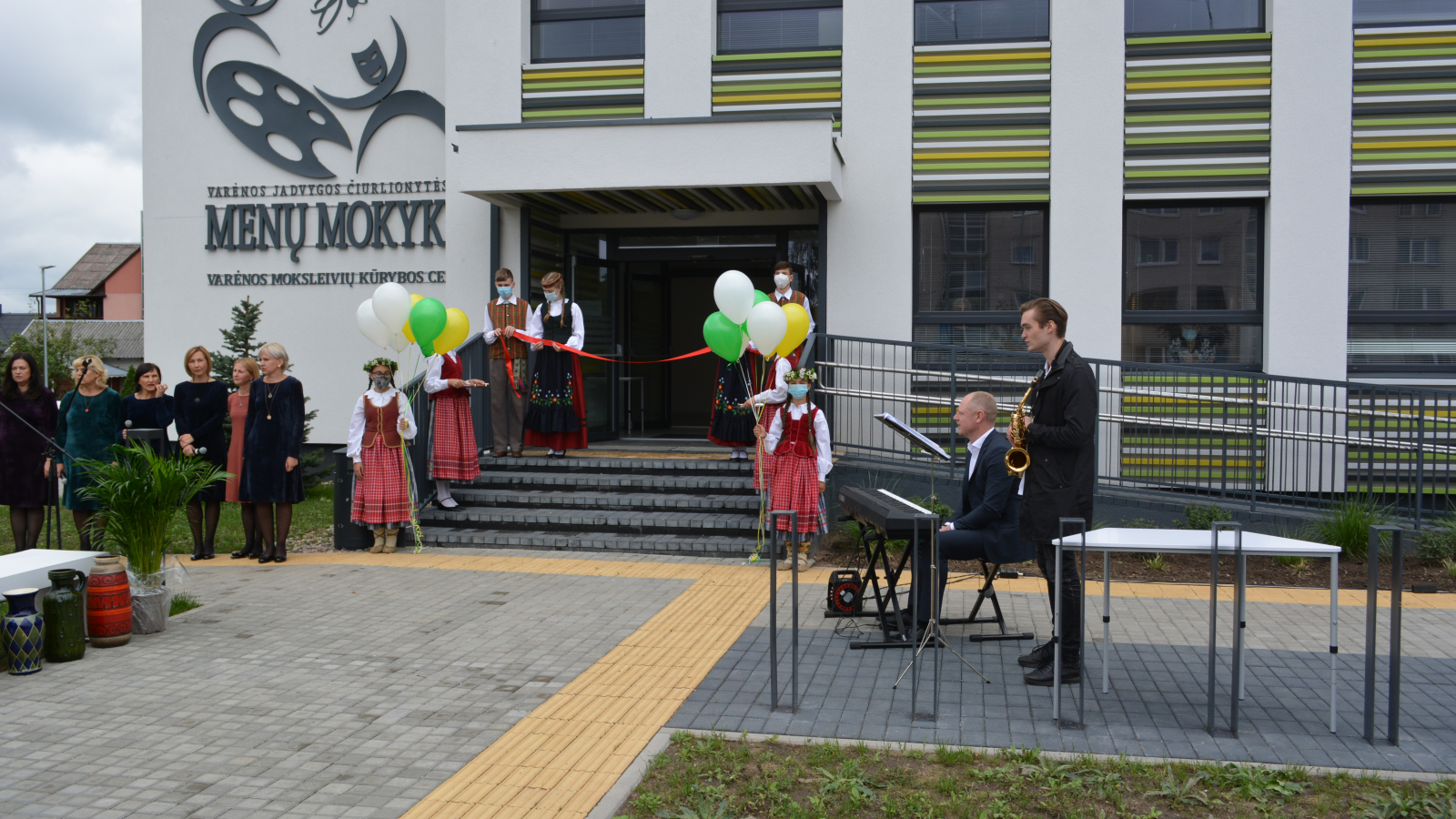 Renovated art school opening in Varena, Lithuania