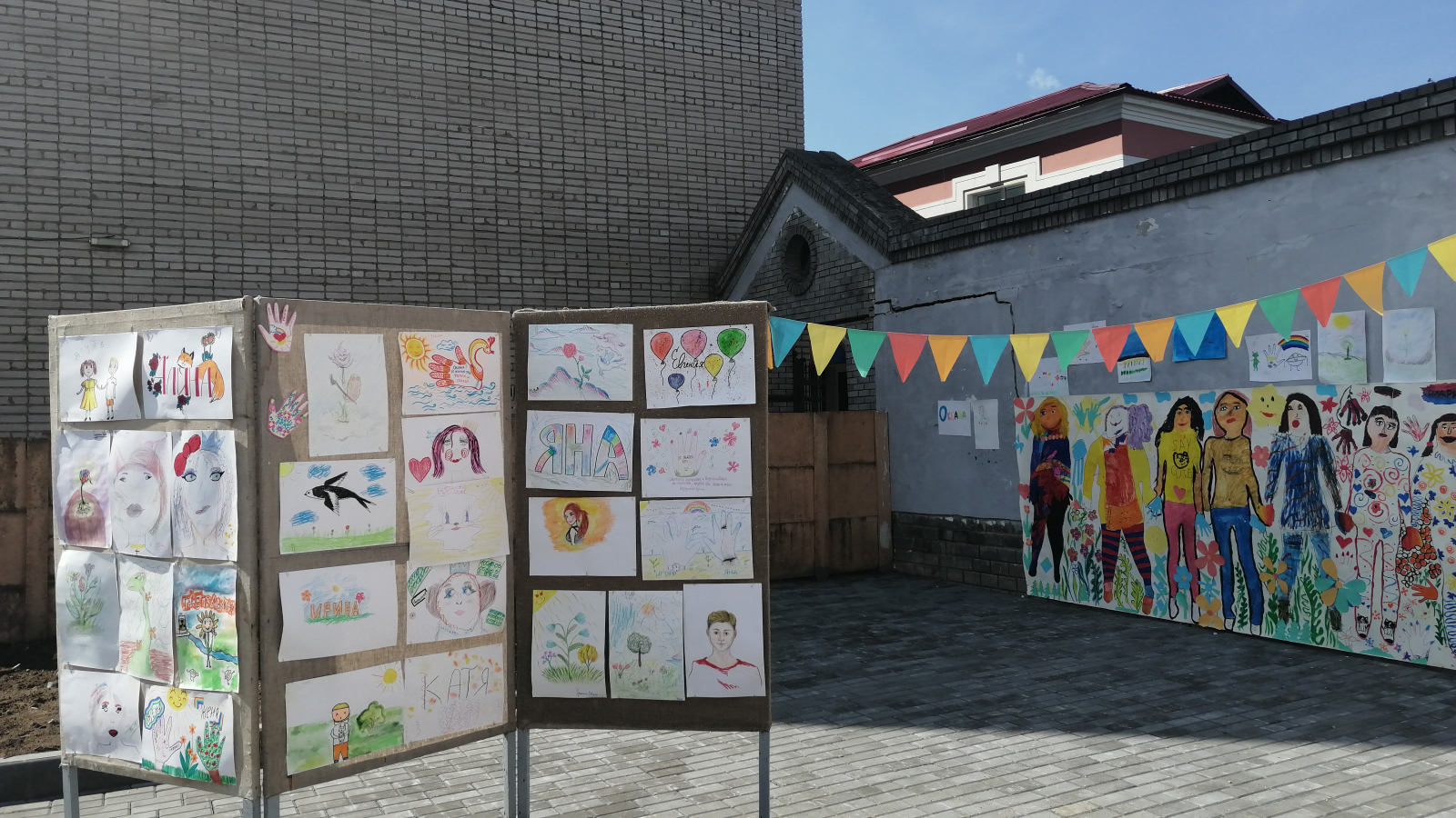 Exhibition of children's works