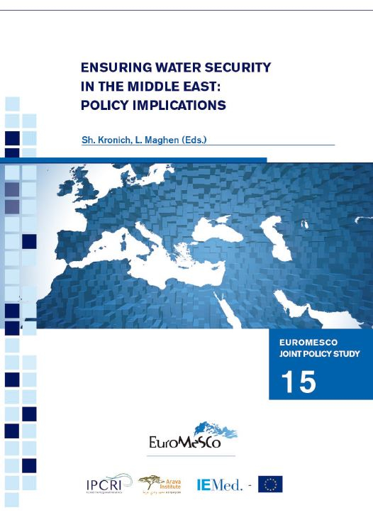 Euromesco Joint Policy Study 15 – Ensuring water security in the Middle East: policy implications