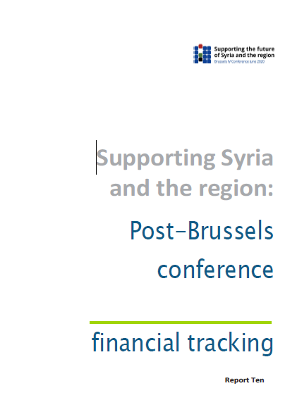 Supporting Syria and the region: Post-Brussels conference financial tracking – September 2020
